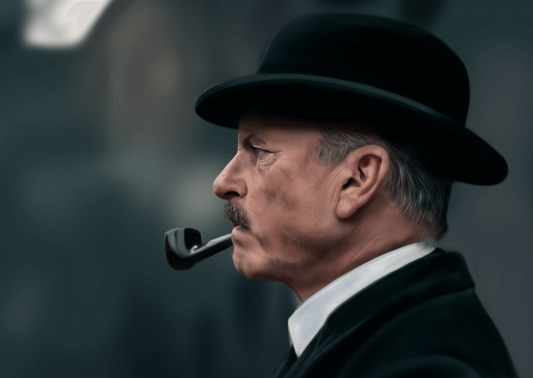 Peaky Blinders Digital Painting