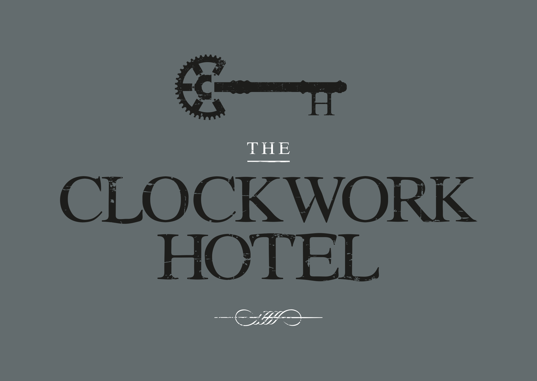 The Clock Work Hotel Brand Design